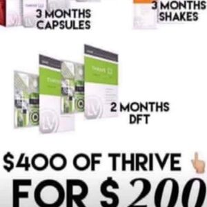 Thrive Promoter Pack